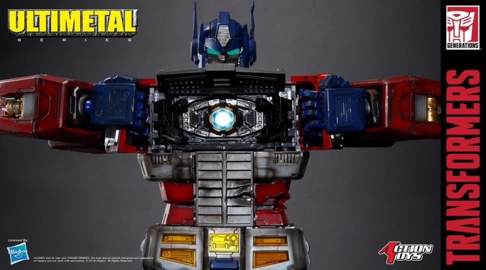 Transformers News: Transformers UN-01B Ultimetal Optimus Prime (Battle Damaged Version) Available for Preorder