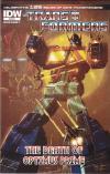The Death Of Optimus Prime