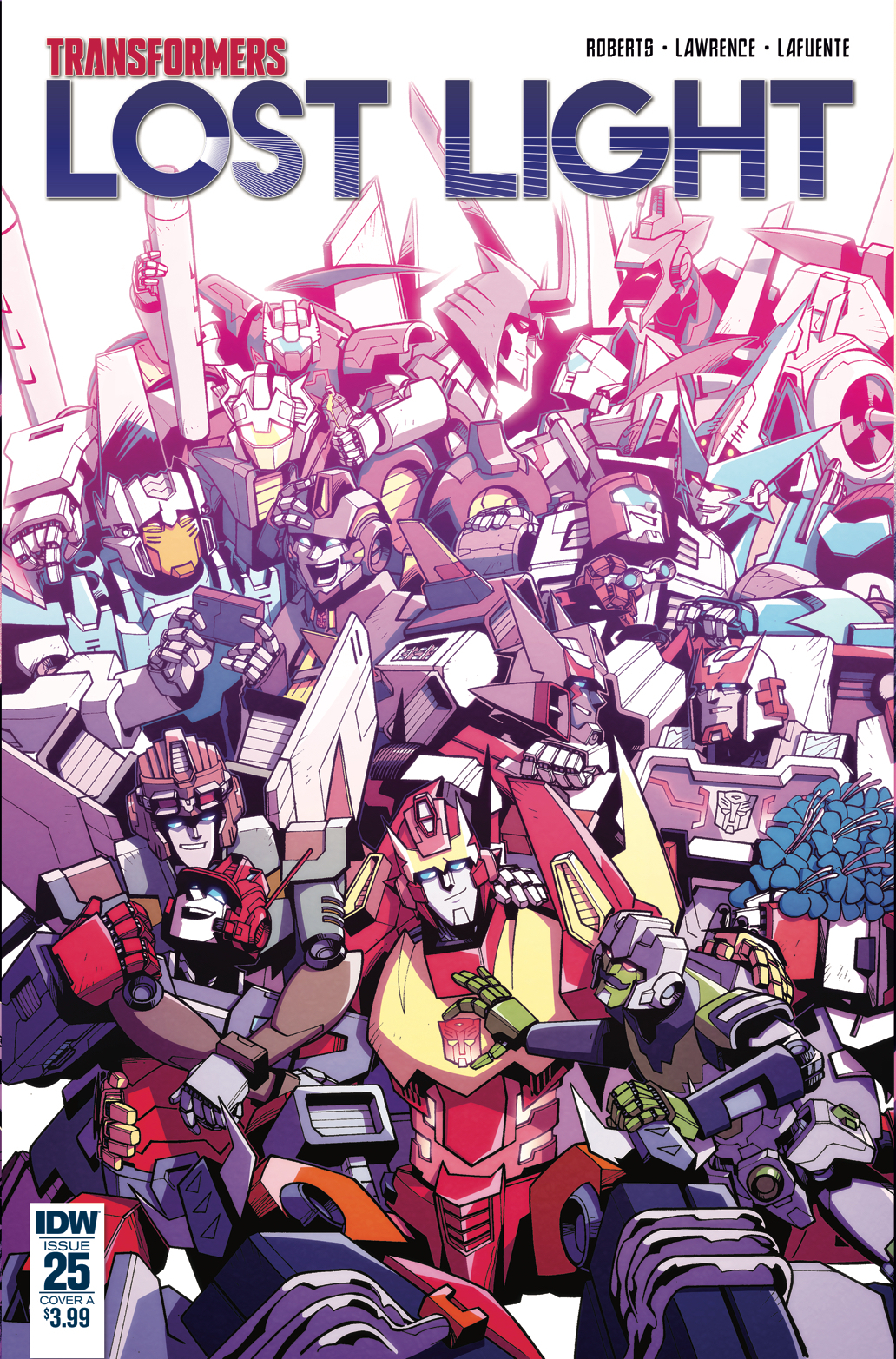Transformers News: Jack Lawrence / Joana Lafuente Cover for IDW Transformers: Lost Light #25
