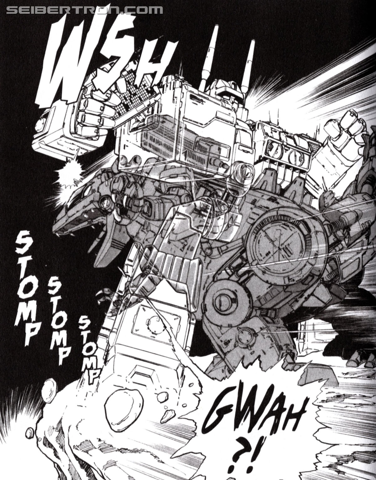 Transformers News: Check out Seibertron's review of Transformers: The Manga Volume 1 from Viz Media