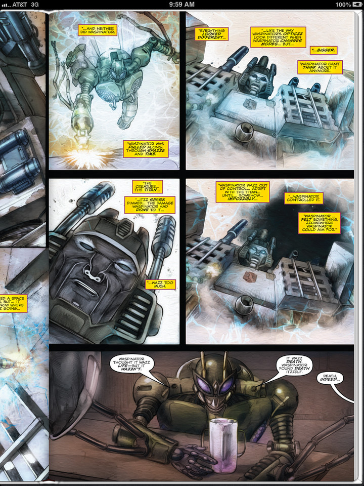 Sneak Peek - Transformers: Robots in Disguise Ongoing #19