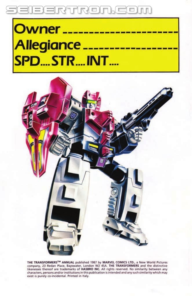 IDW Transformers Classics UK vol.4 Preview