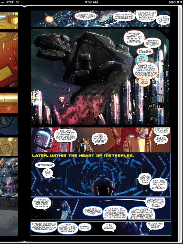 Sneak Peek - Transformers: Monstrosity #10