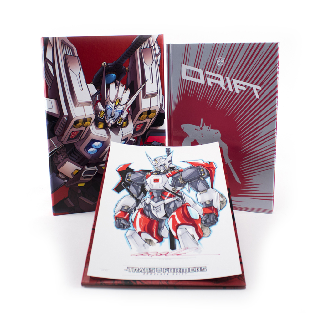 IDW Limited Hardcover Drift Released at BotCon