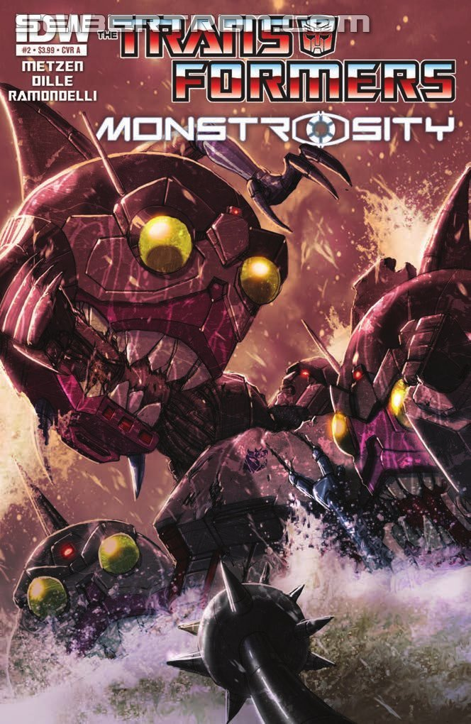 IDW Transformers Monstrosity #2 Preview