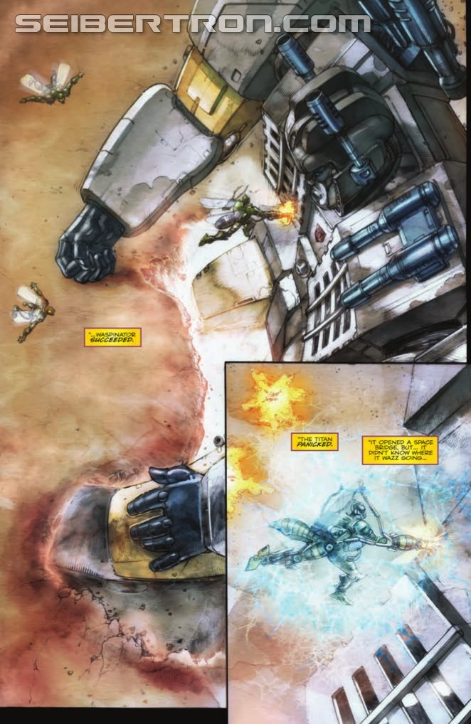 IDW Transformers: Robots in Disguise #19 Preview