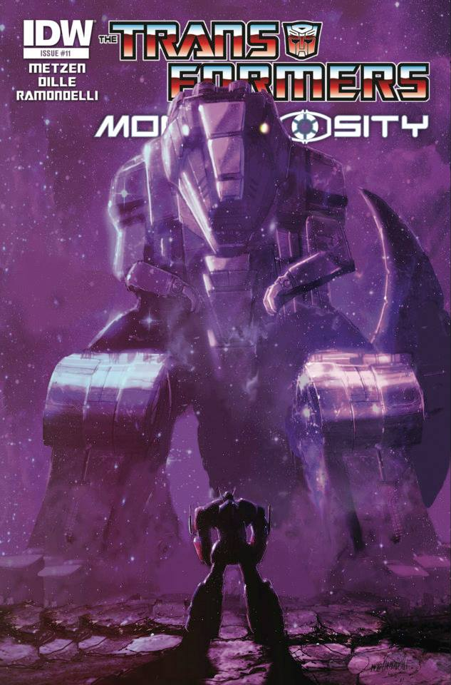 Transformers: Monstrosity #11 Cover Art Revealed