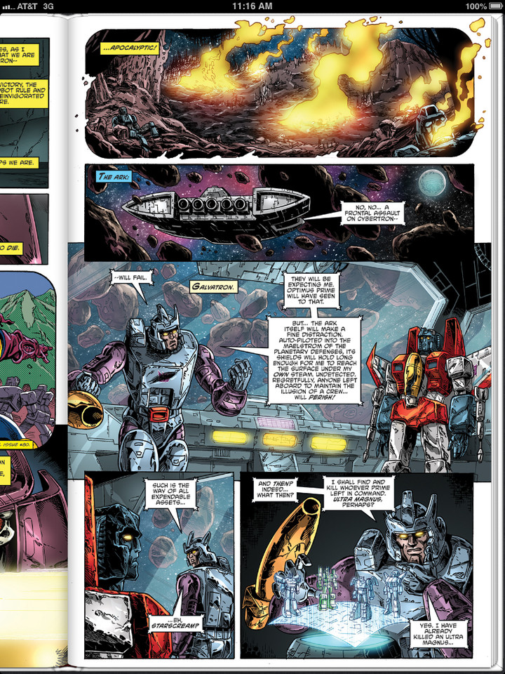 Sneak Peek: Transformers: Regeneration One #93 Three Page Preview