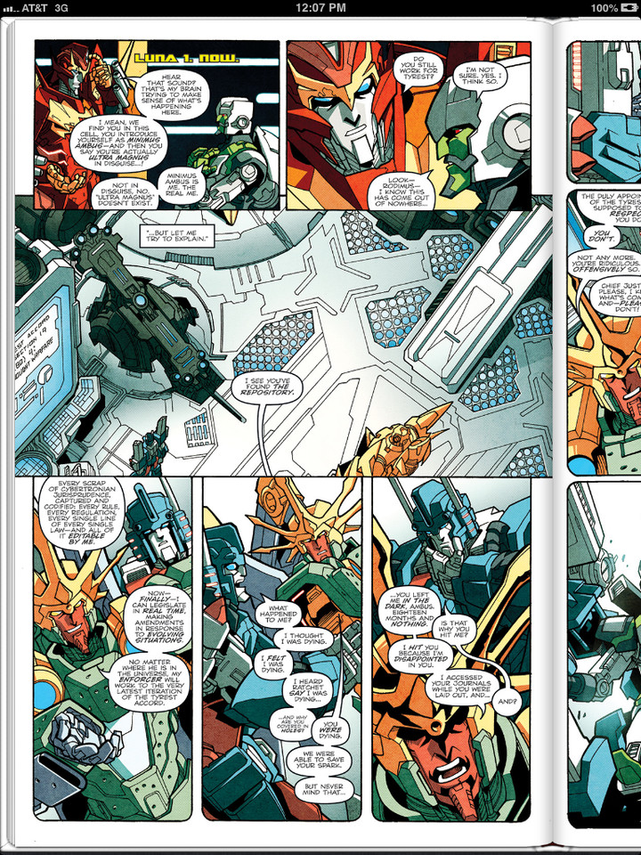 Sneak Peek: Transformers More Than Meets The Eye Ongoing #19