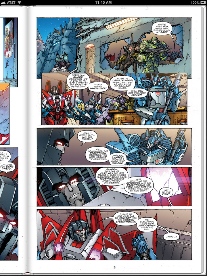 Sneak Peek - Transformers: Robots in Disguise Ongoing #20