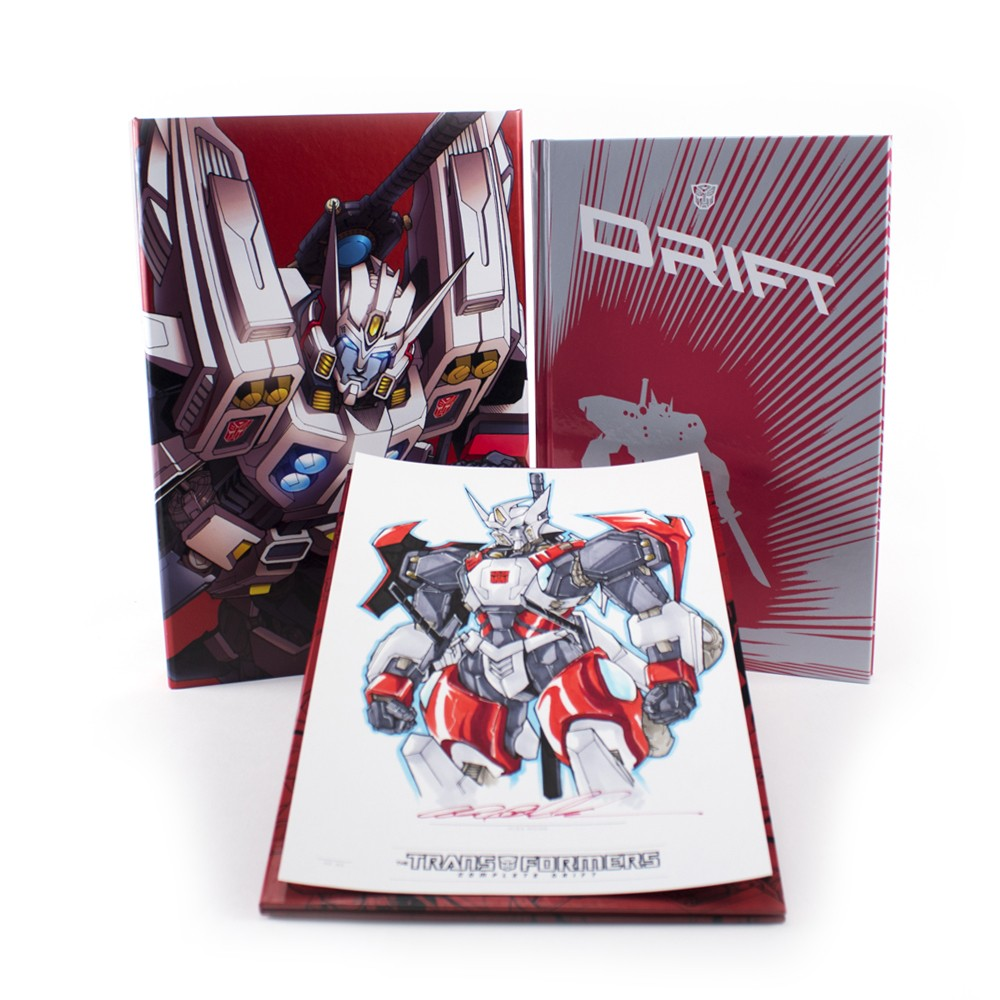 IDW Limited Hardcover Complete Drift Now Available