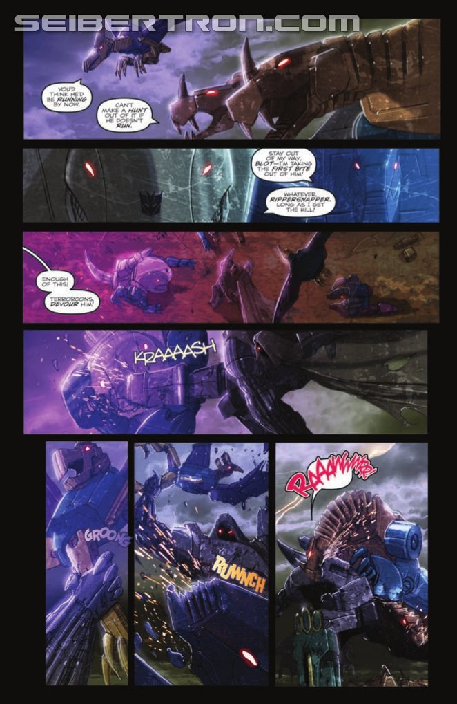 Transformers: Monstrosity #3 (of 4) Preview