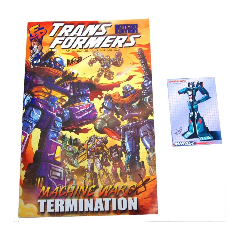BotCon 2013 Machine Wars Signed Comic Available