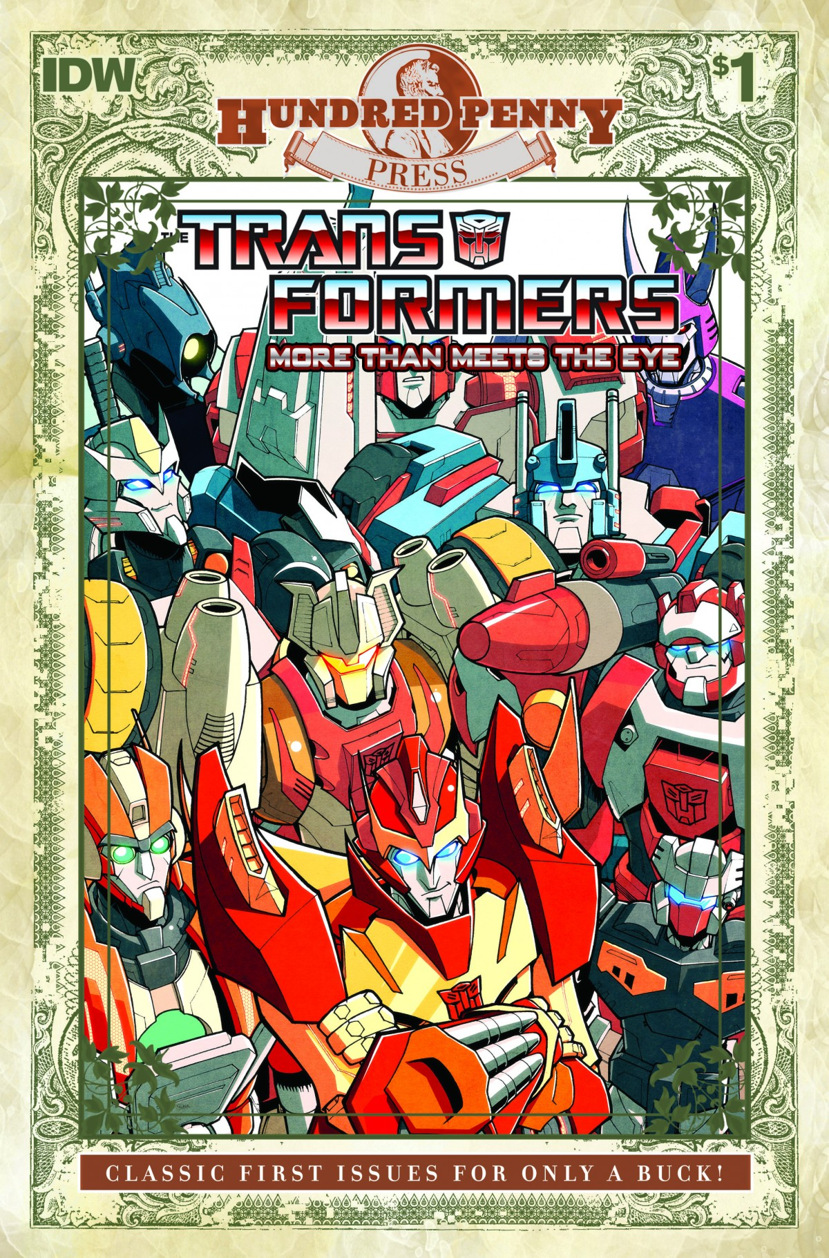 IDW Transformers November 2013 Solicitations - Dark Cybertron, Beast Hunters,