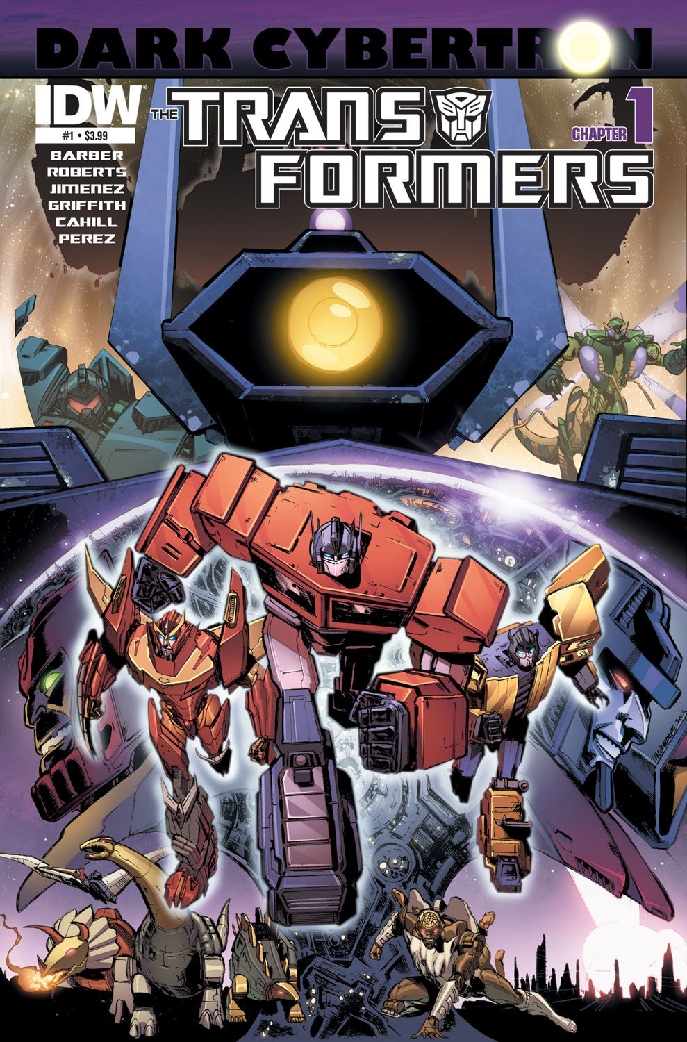 "Big Names Turn Cybertron ""Dark"" - Renowned Artist Phil Jimenez Brings His Talents To Transformers!"
