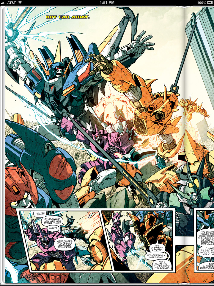 Sneak Peek: Transformers: More Than Meets The Eye Ongoing #20