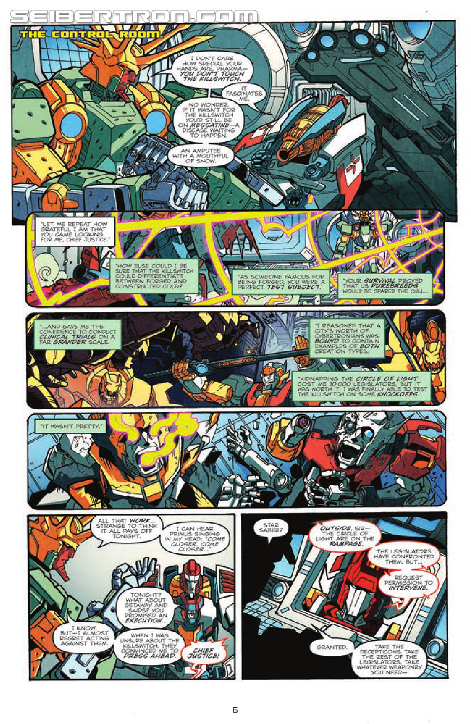 Transformers: More Than Meets The Eye Ongoing #20 Preview