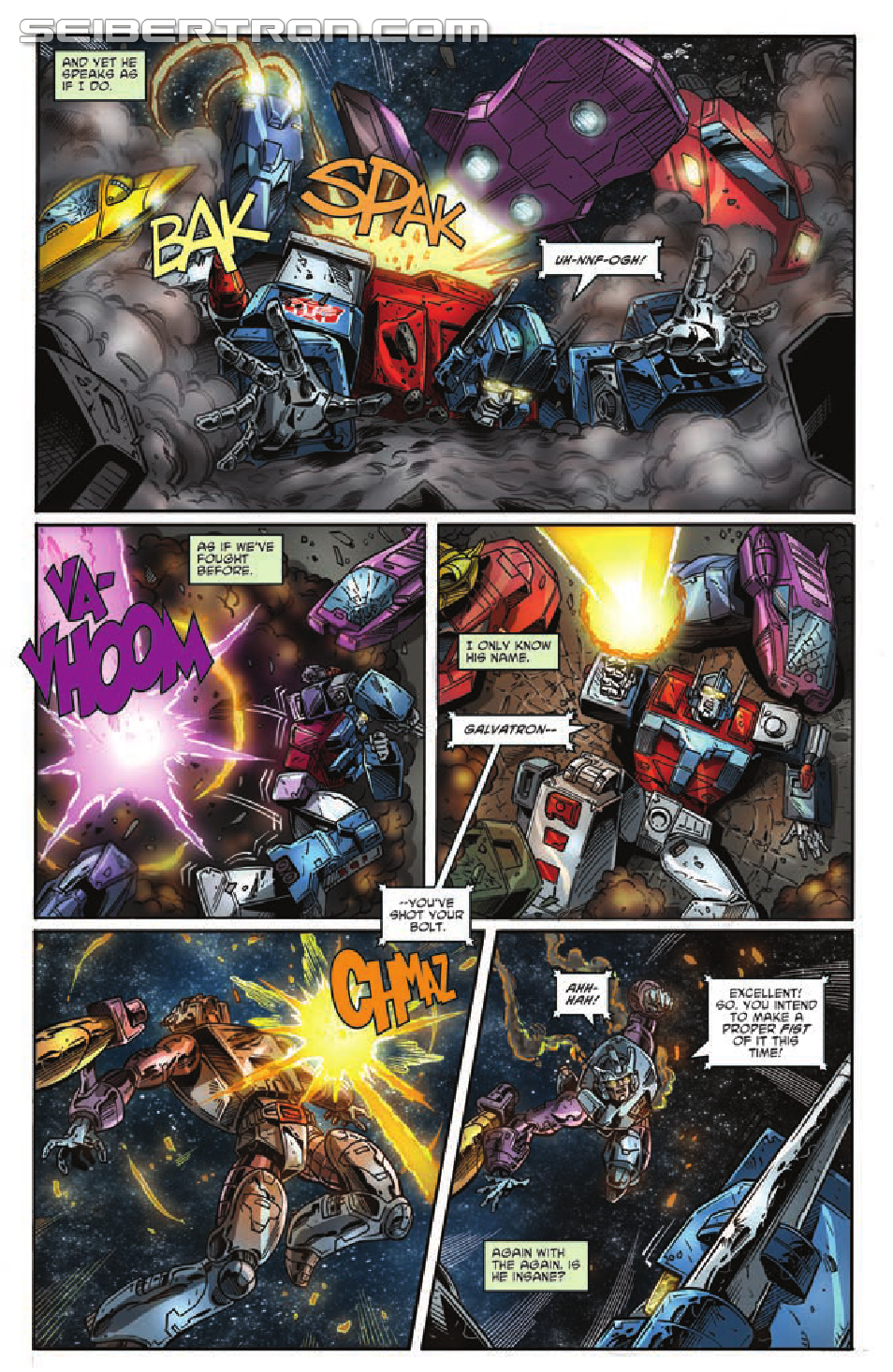 Transformers: Regeneration One #94 Preview