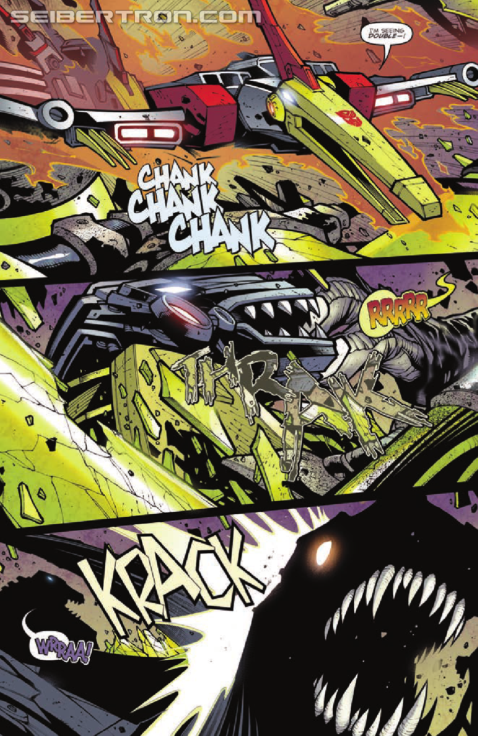 Transformers Prime Beast Hunters #4 Preview