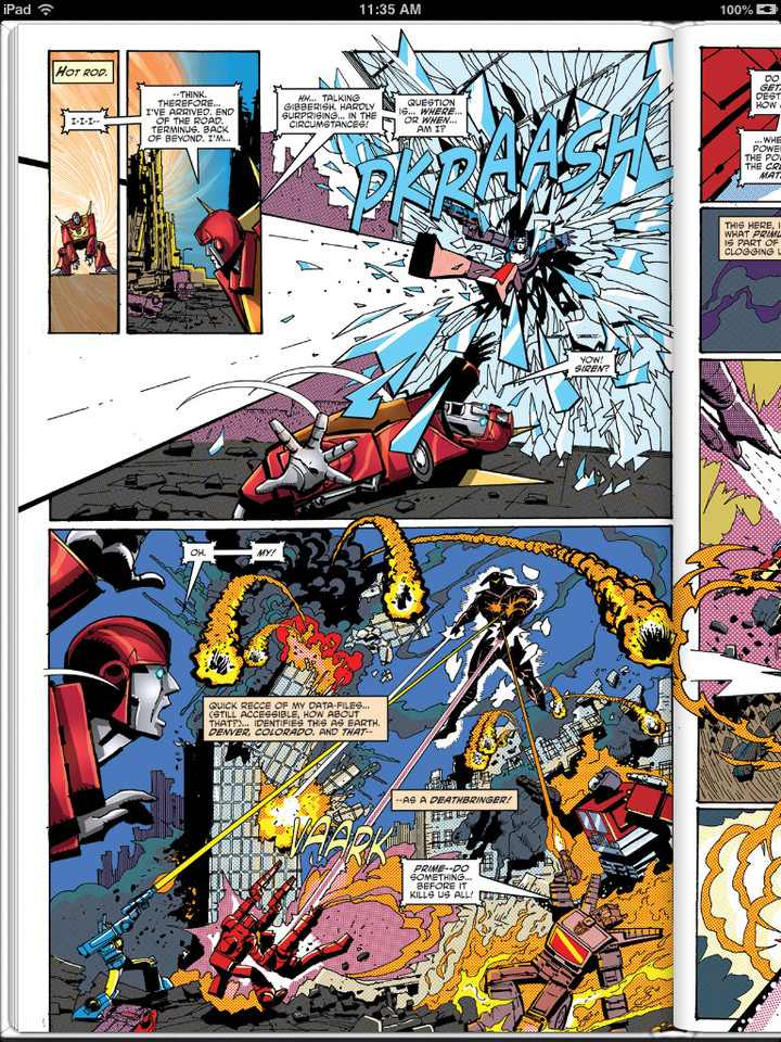 Sneak Peek: Transformers: Regeneration One #0 Three Page Preview