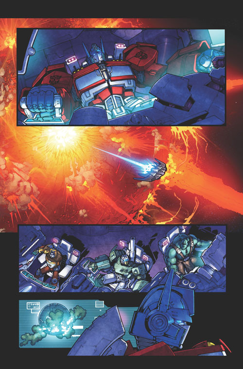 PREVIEWSworld Interviews Phil Jiminez, Plus Preview Pages of Dark Cybertron