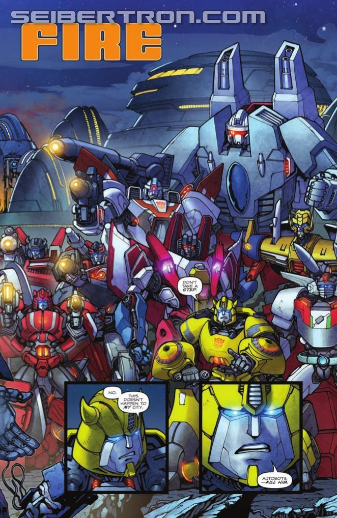 Transformers News: IDW Transformers Robots in Disguise vol. 4 TPB Preview