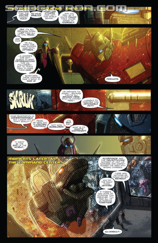 Transformers News: IDW Transformers: Monstrosity 4 (of 4) Preview