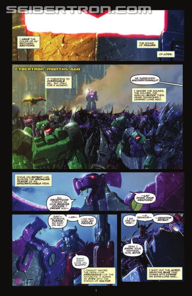 Transformers News: IDW Transformers: Robots in Disguise #21 Preview