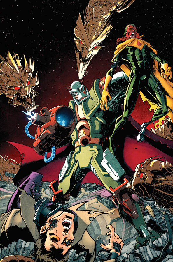 Transformers News: Nick Roche to Draw Marvel Death's Head II in 2014