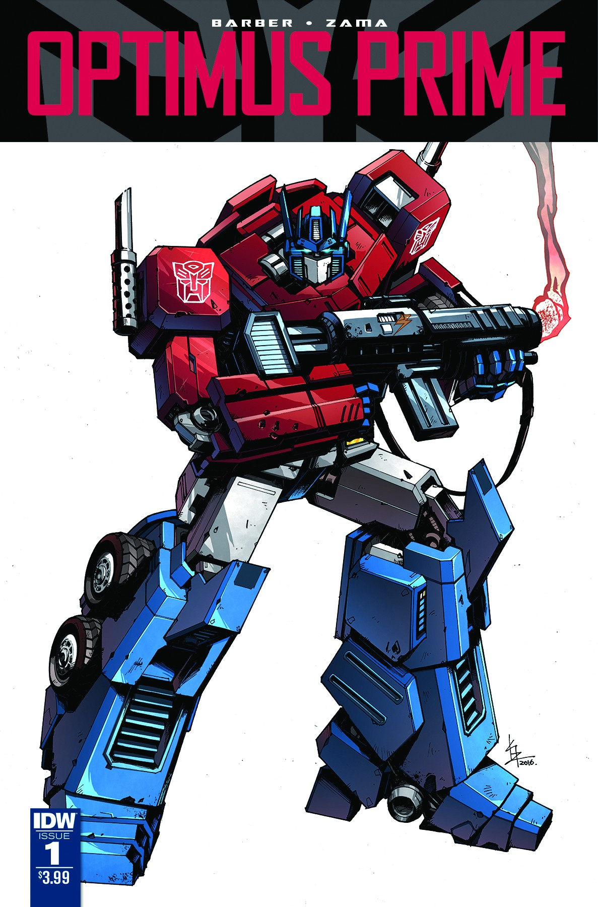 Transformers News: John Barber on new IDW Optimus Prime Ongoing