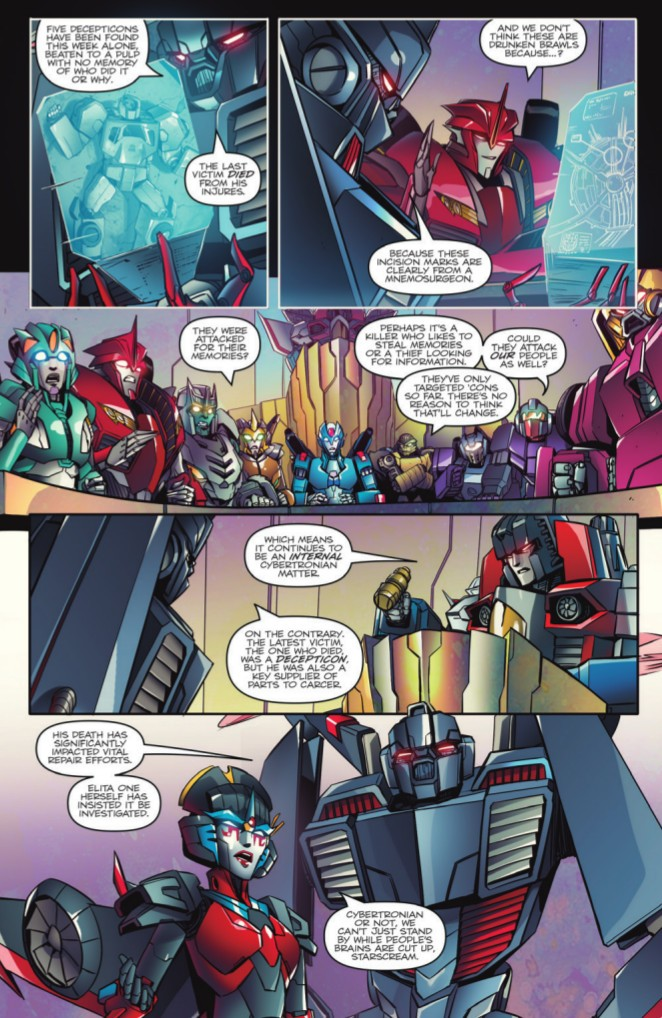 Transformers News: Preview of IDW Transformers: Till All Are One Volume 1 TPB
