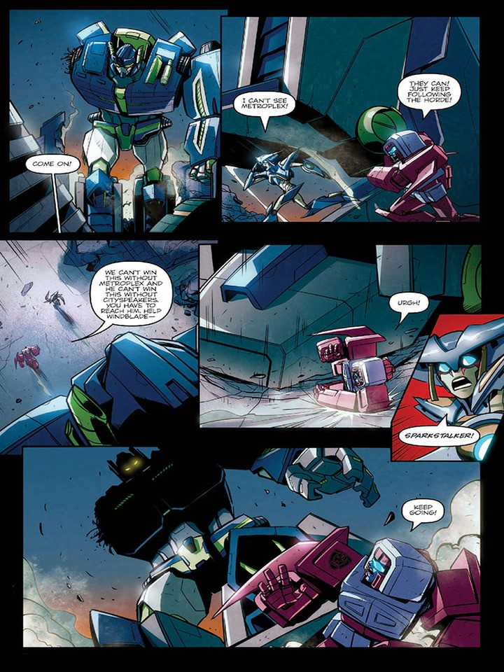 Transformers News: IDW Till All Are One #6 Sneak Peak
