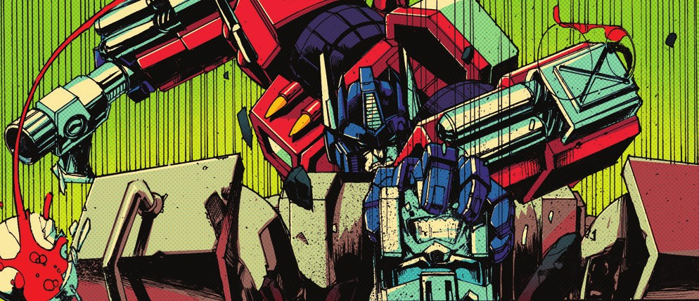 Transformers News: NC Comicon 2017 - IDW Transformers Panel with Optimus Prime Issues 7 - 10 Teased