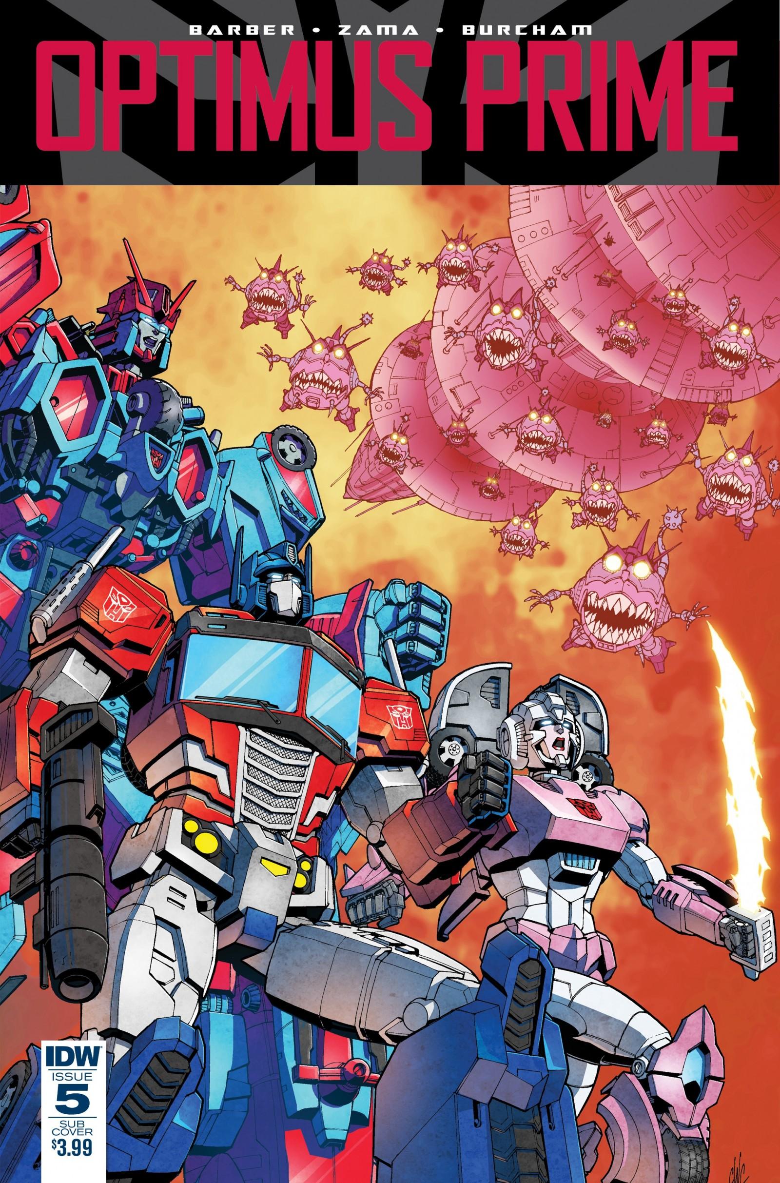 Idw Transformers Comics For March 2017 Revolutionaries