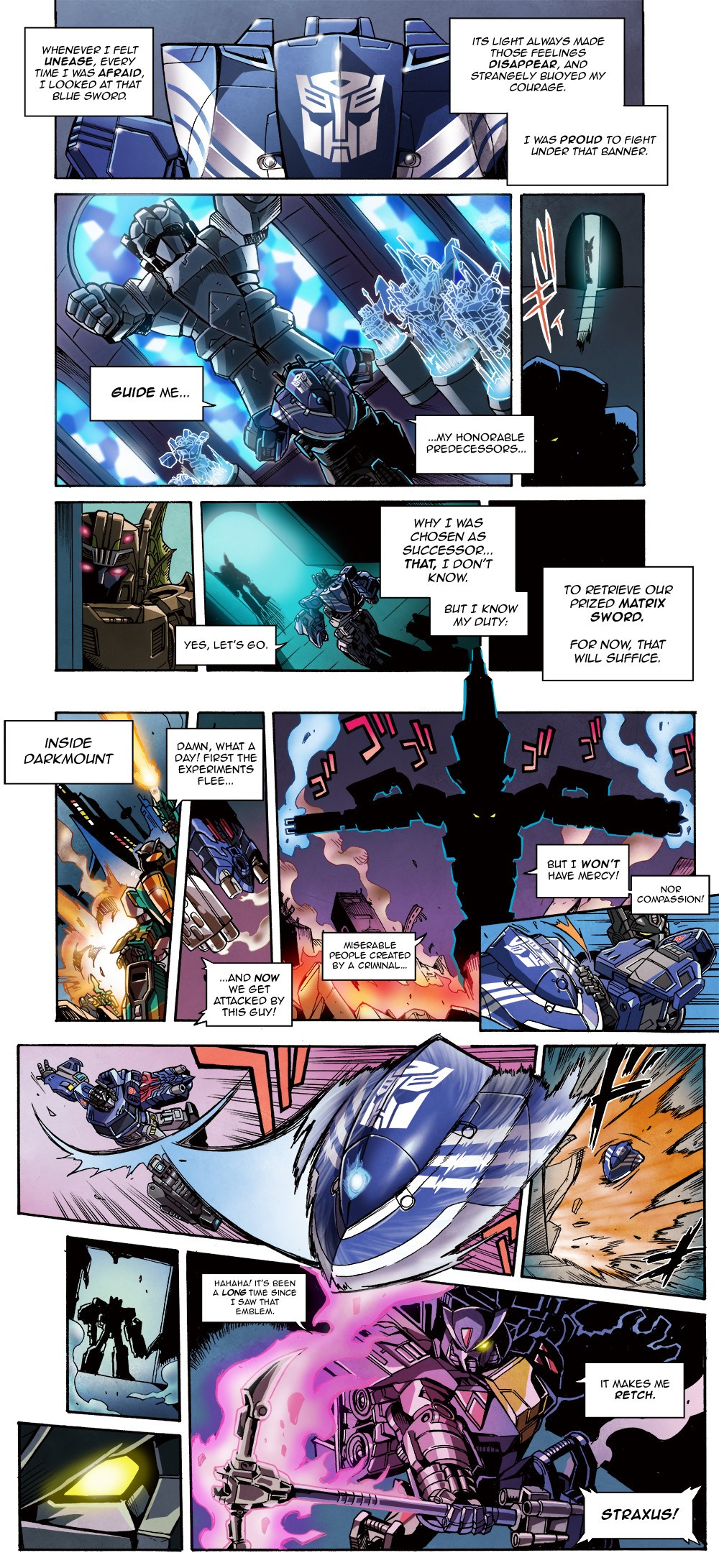 Transformers News: e-HOBBY Magna Convoy Comic Translation