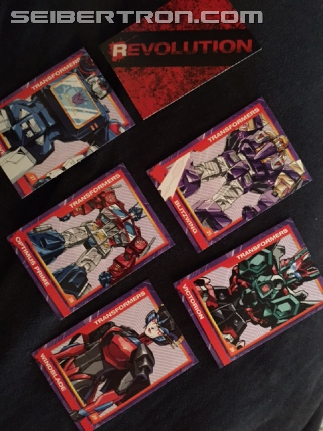 Transformers News: Revolution Cards from IDW Publishing Transformers Humble Bundle