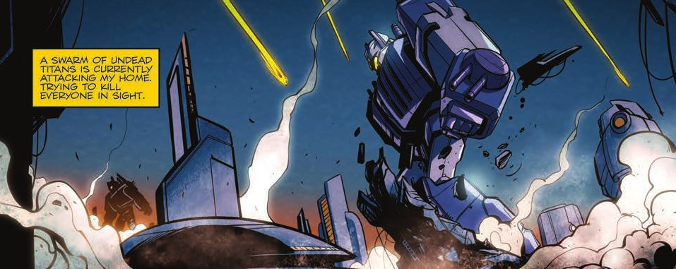 Transformers News: Review of IDW Transformers: Till All Are One #6