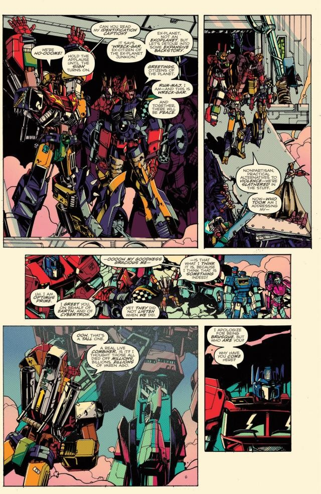 Transformers News: Full Preview of IDW Optimus Prime #2