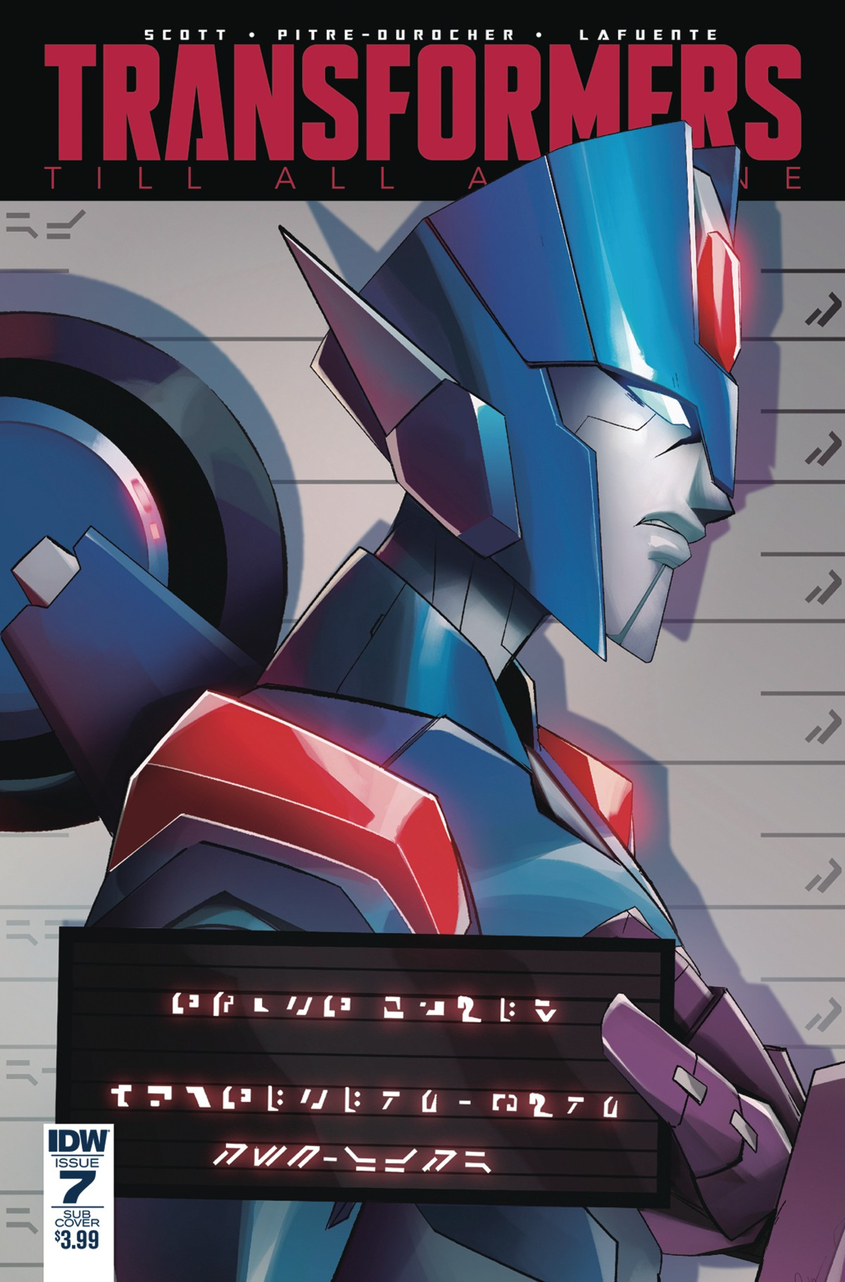 Transformers News: IDW Transformers: Till All Are One #7 Lafuente and Tramontano Cover Variants