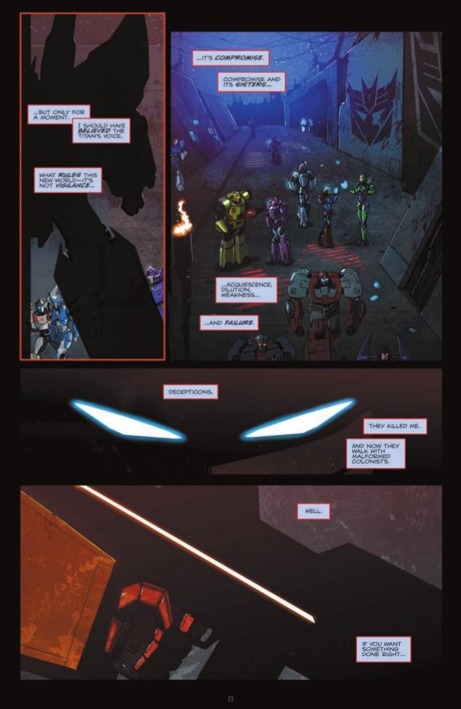 Transformers News: Full Preview of IDW Titans Return TPB
