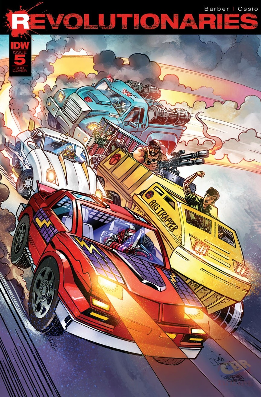 Transformers News: IDW Transformers and Hasbro Universe Comics Solicitations for April 2017