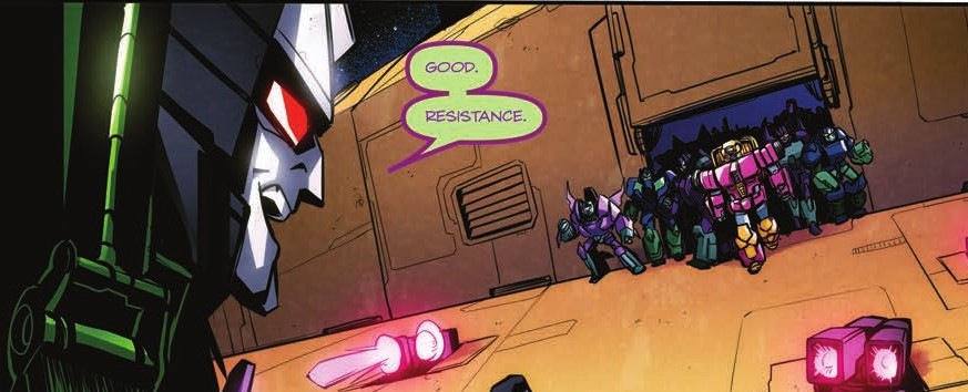 Transformers News: Review of IDW Transformers: Till All Are One #7