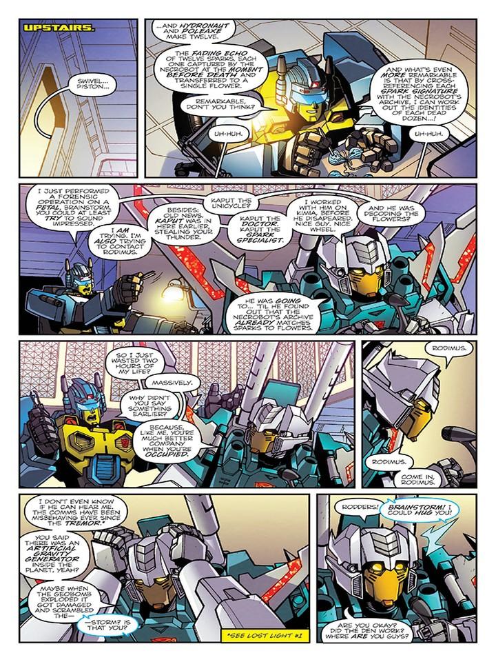 Transformers News: Sneak Peak - Lost Light #3