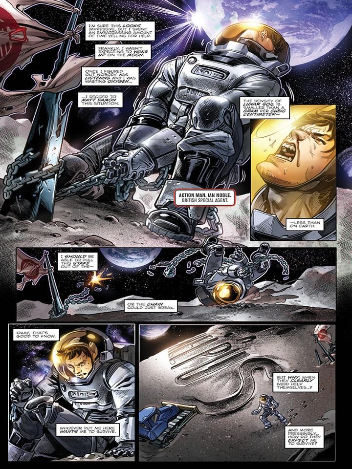 Transformers News: Sneak Peak - IDW Revolutionaries #2