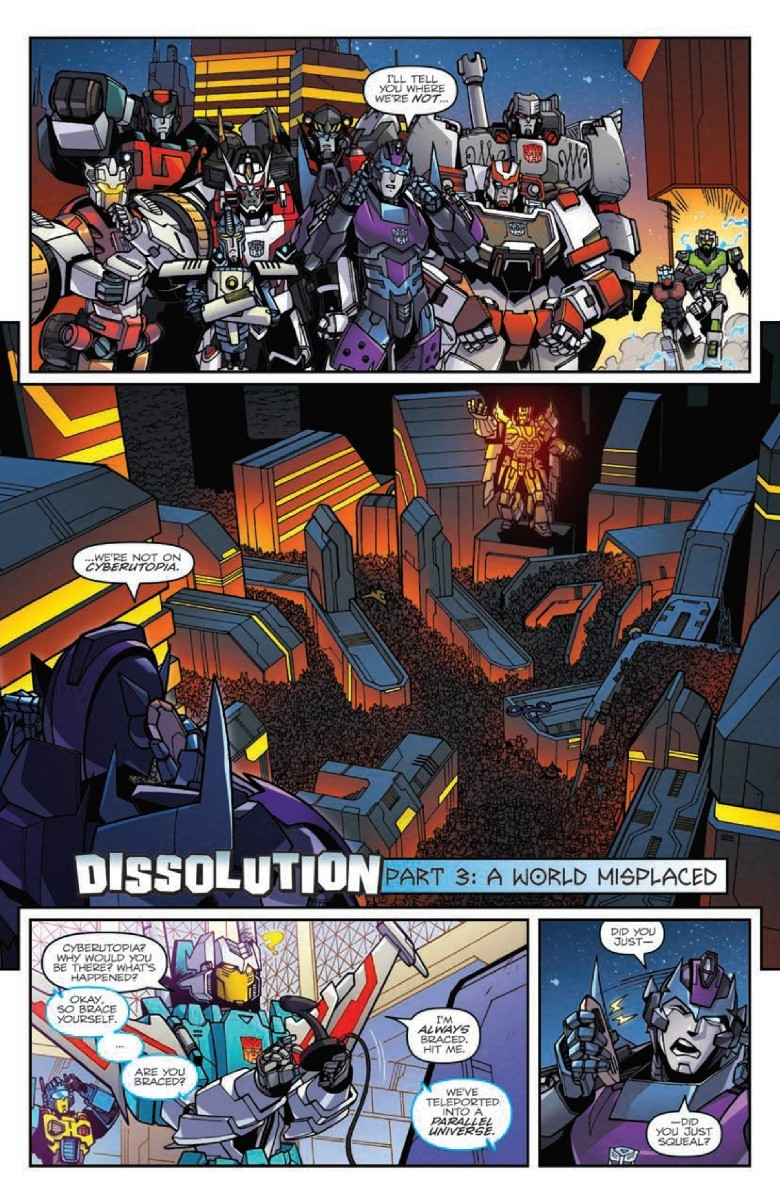 Transformers News: Full Preview of IDW Transformers: Lost Light #3