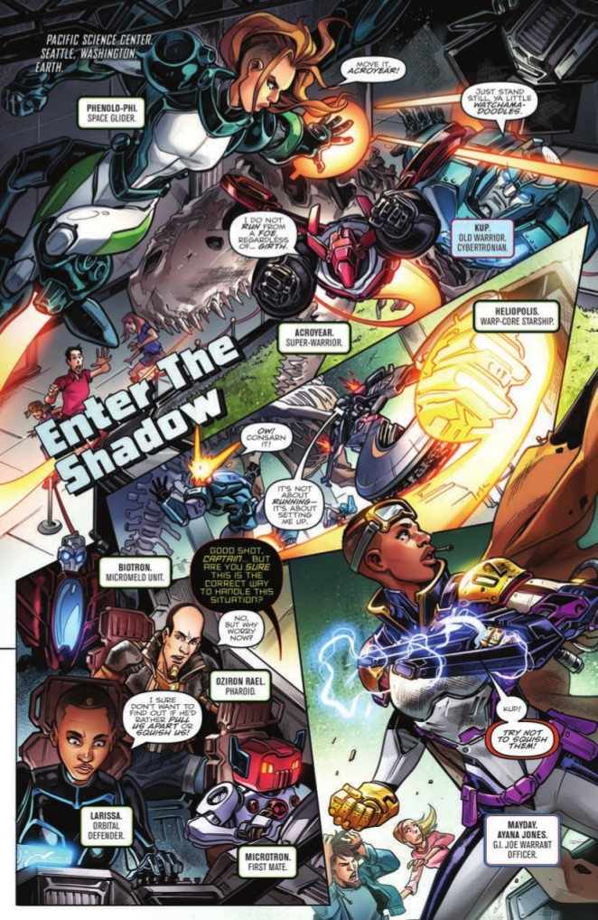 Transformers News: Full Preview of IDW Revolutionaries #2