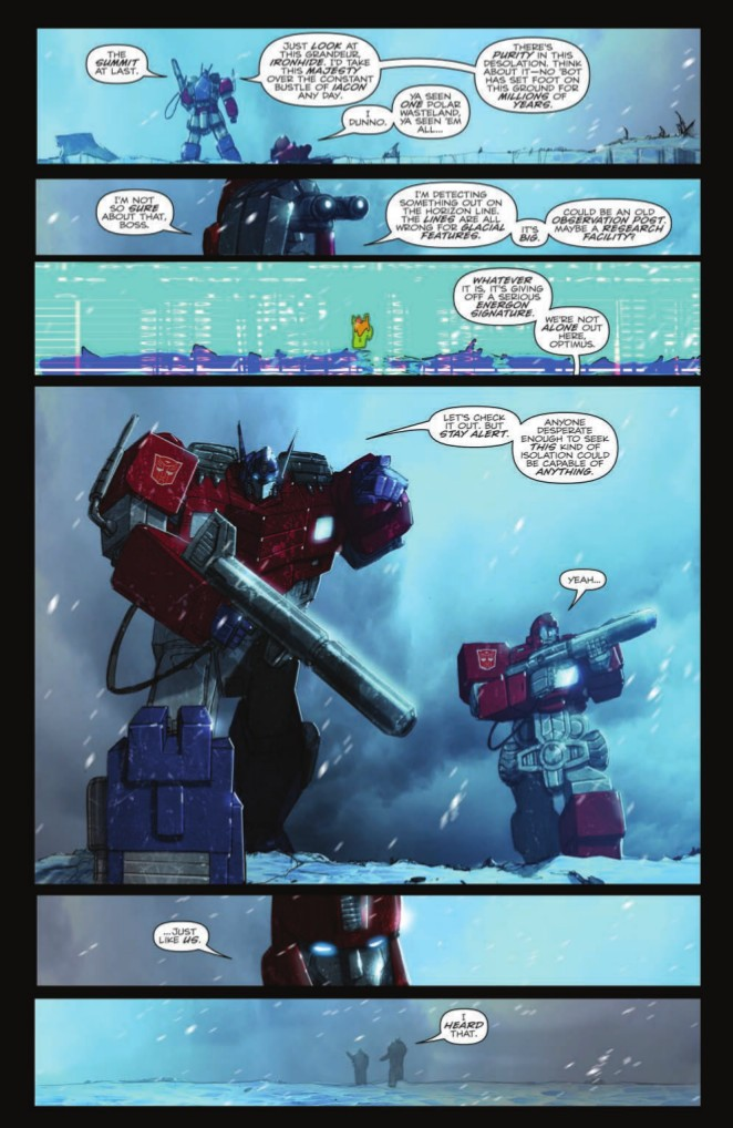 Transformers News: Preview of Transformers: IDW Collection Phase Two Volume 5