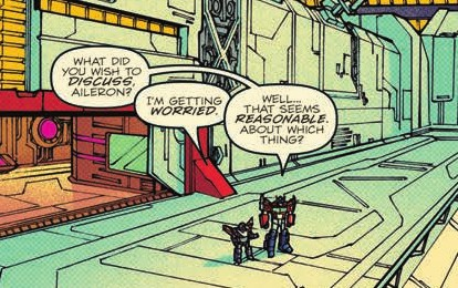 Transformers News: Review of IDW Optimus Prime #4