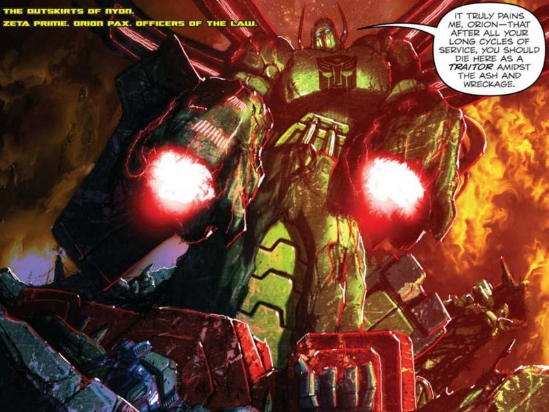 Transformers News: Revisitocracy - A Seibertron.com Retrospective on IDW Publishing Autocracy, Monstrosity, Primacy