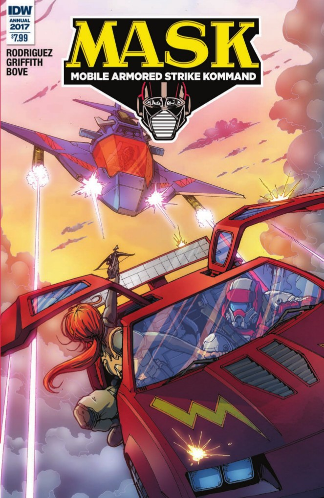 Transformers News: Preview of IDW M.A.S.K. Annual 2017